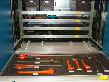 Tool Kitting Vertical Lift Modules Tool Room Storage